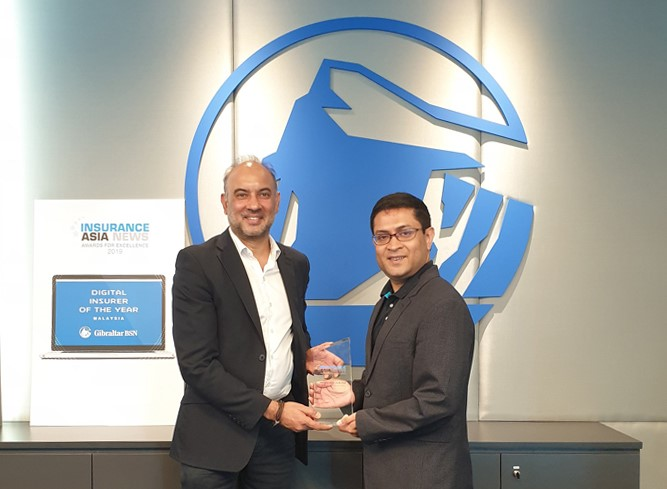Gibraltar BSN Named Malaysia's Digital Insurer of the Year